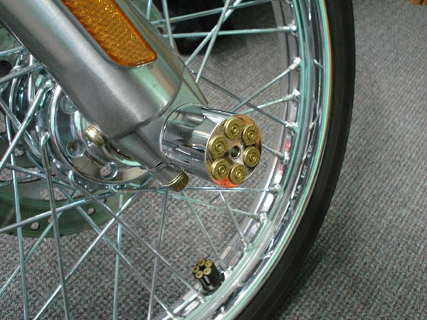 Motorcycle Axle Covers For Harley and Customs